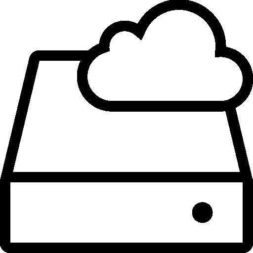 Network Cloud Storage Icon Ios Iconset
