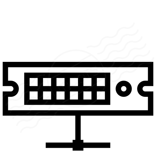 Iconexperience I Collection Rack Server Network Icon