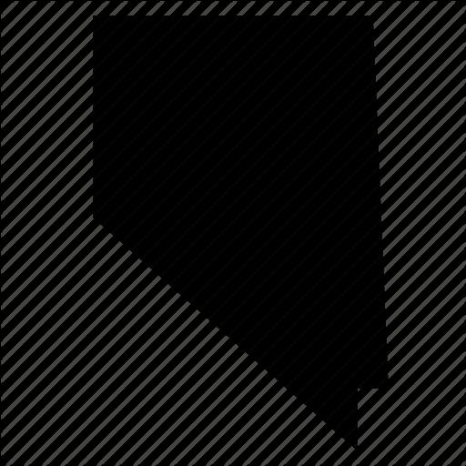 Map, Nevada, State, States, United States, Usa Icon