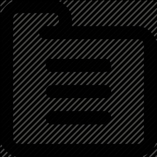 Feature, File, Folder, Folder File, Library, Menu Icon