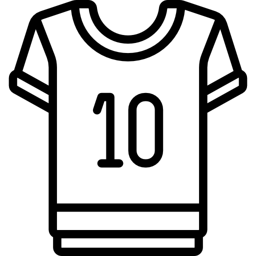 American Football Jersey Icons Free Download