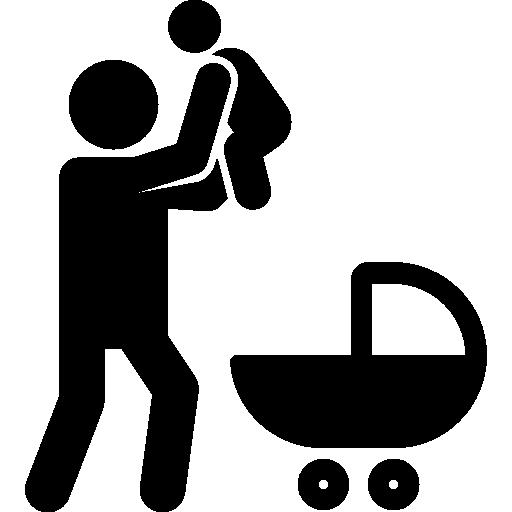 New Born Baby Icon Familiar Freepik