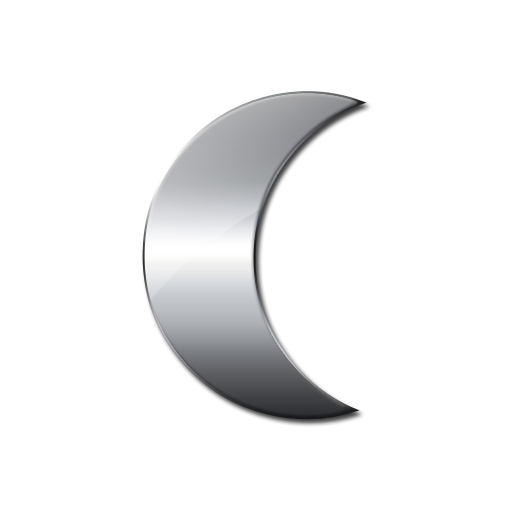 Crescent Moon Icon