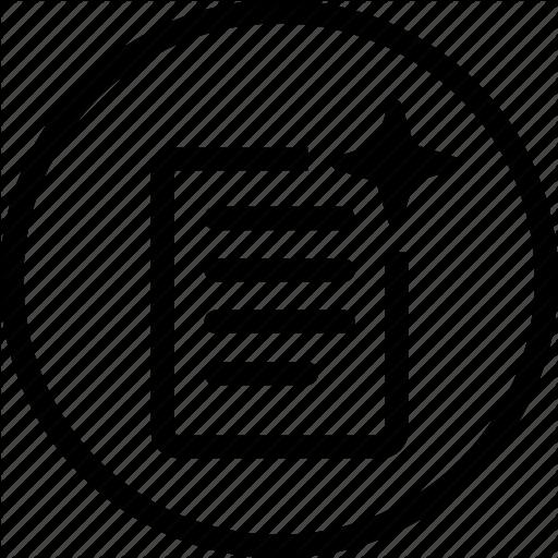 Document, Fresh, List, New, Order Icon
