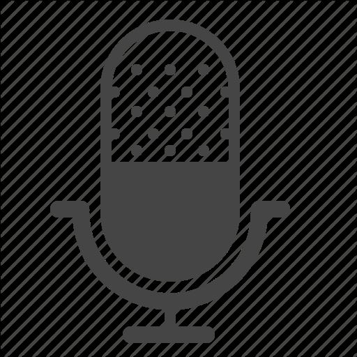 Audio, Mic, Microphone, Record Icon