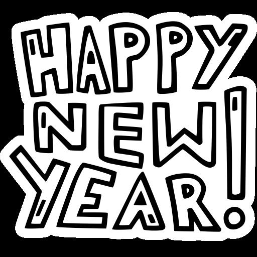 Year, Party, Happy, New, Celebration, New Year Icon