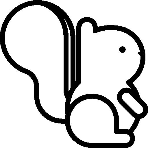 Squirrel, Foamy Icon