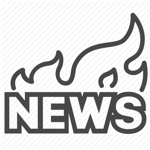 Breaking News, Hot, Media, News, Report Icon