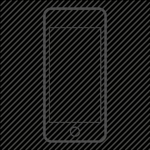 Apple, Display, Iphone Mobile, Phone, Screen, Smartphone Icon