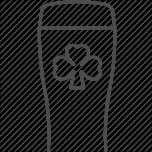 Beer, Drink, Ireland, Irish, Shamrock Icon