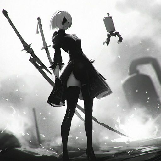 Nier Automata Also Love Nier Gestalt Anime Amino