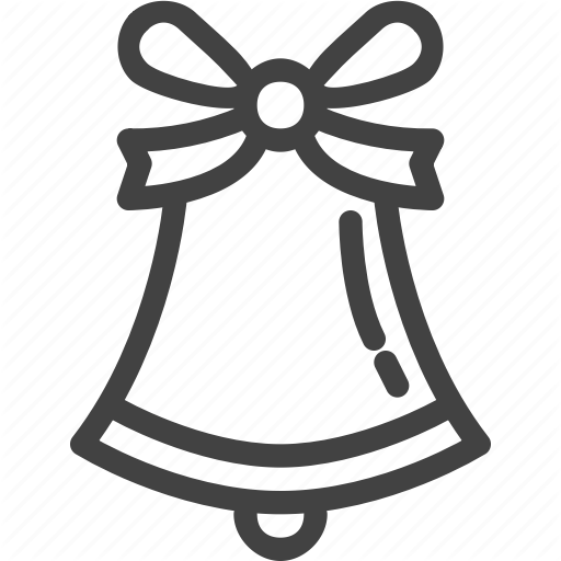 Bell, Christmas, Eve, Party Icon