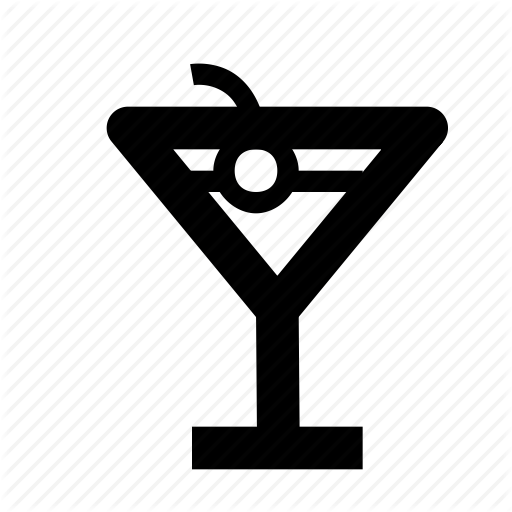 Bar, Cocktail, Drink, Nightlife Icon