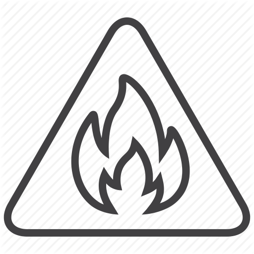 Fire Outline Png