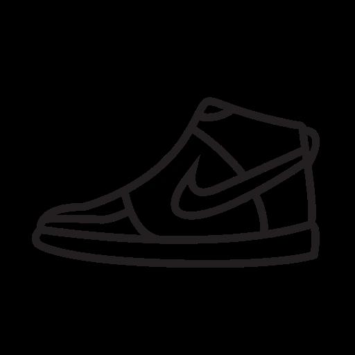 Nike, Shoes Icon