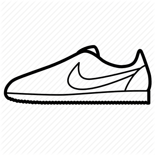 Cortez, Nike, Shoes, Sneakers, Trainers Icon