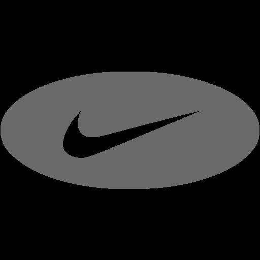 Dim Gray Nike Icon