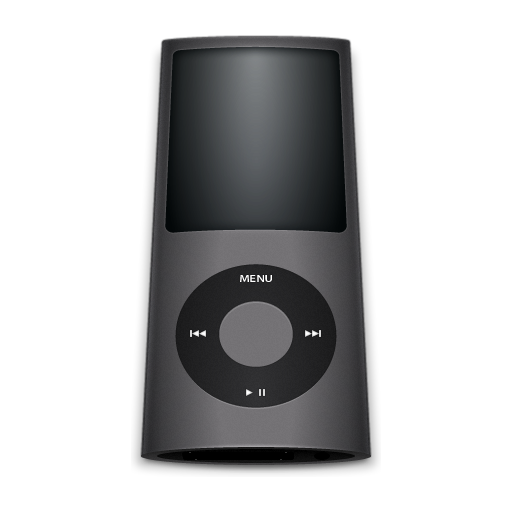 Black Ipod Icon