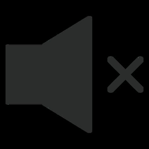 No Sound Flat Icon