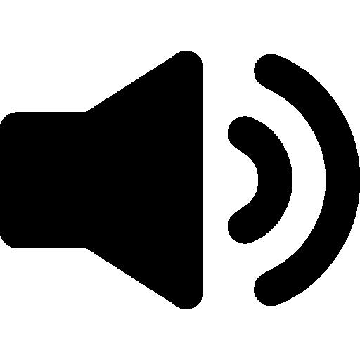 Speaker Interface Audio Symbol Icons Free Download