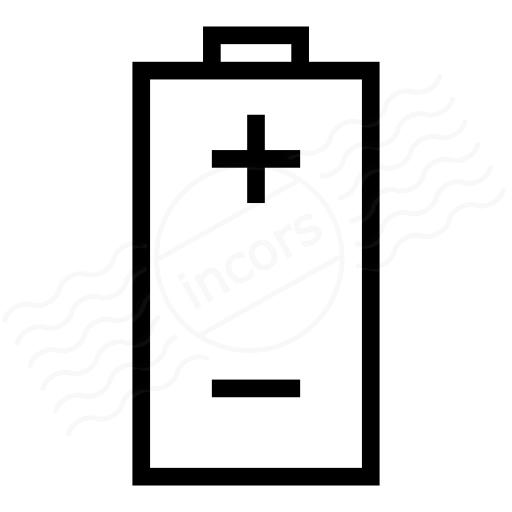 Iconexperience I Collection Battery Plus Minus Icon