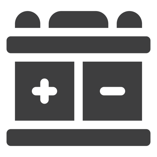 Motorcycle Battery Icon