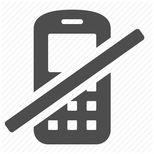 Cell Phone, Mobile Phone, No, Phone, Restricted, Sign, Telephone Icon