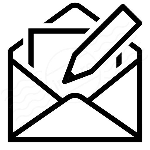 Iconexperience I Collection Mail Write Icon