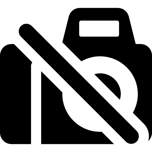 No Photography Icon Shopping Mall Freepik