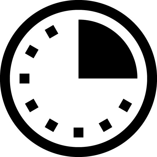 Duration Icon Training Curriculum Icons Time Icon
