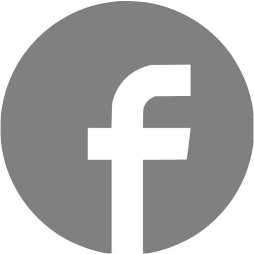 Gray Facebook Icon