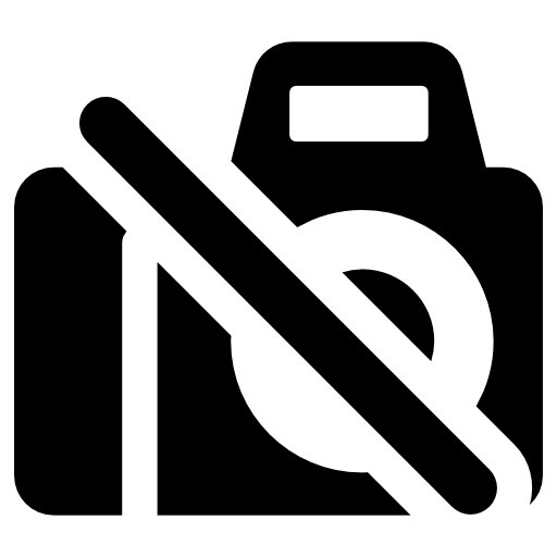 No Photo Sign Icon Free Icons Download