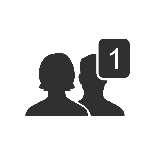 Add User Facebook Icon
