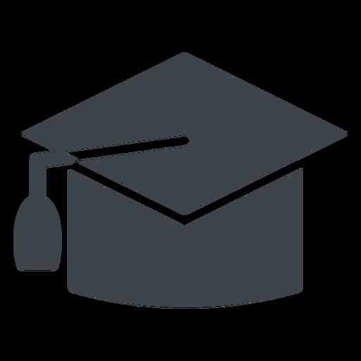 Graduation Hat Flat School Icon