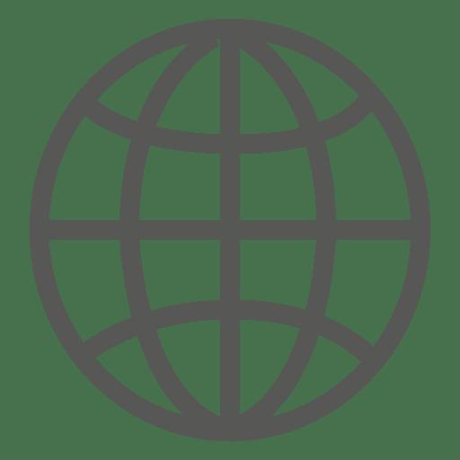 Earth Grid Icon