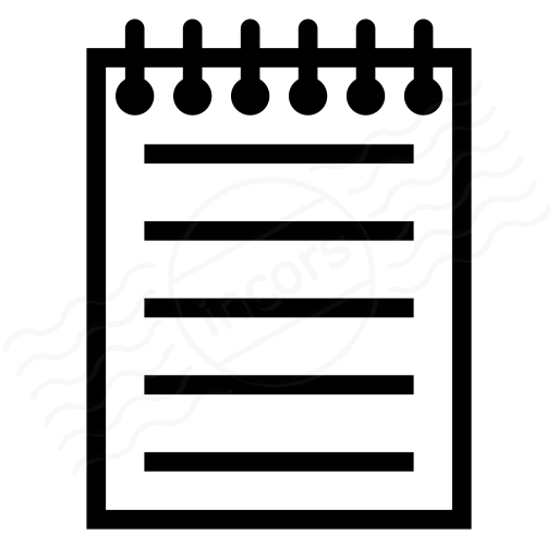 Iconexperience I Collection Notebook Icon