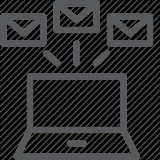 Batch, Business, Email, Envelope, Forward, Laptop, Multiple