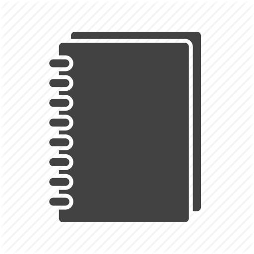 Spiral Notebook Modern Icon Web Icons Png