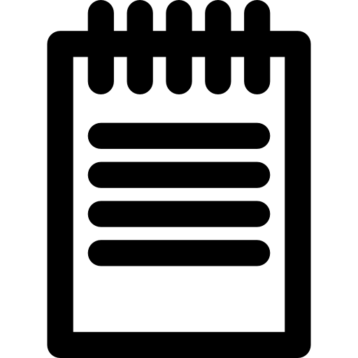 Spring Notepad Icons Free Download