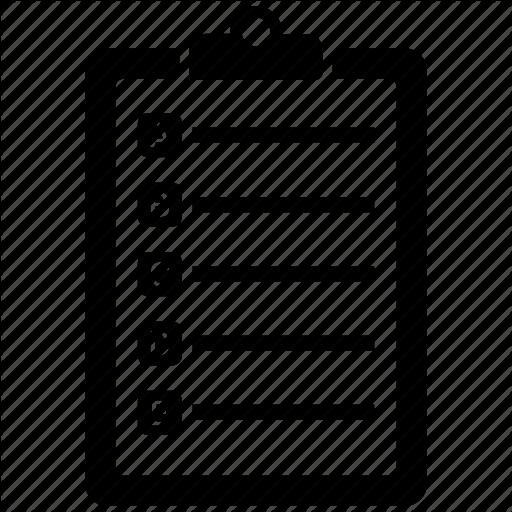 Bullet, Bullets, List, Notepad Icon