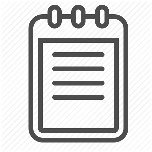 Note Pad, Notepad Icon