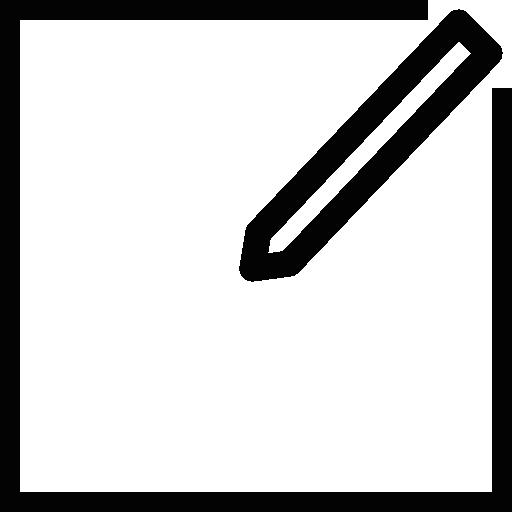Taking Notes Symbol