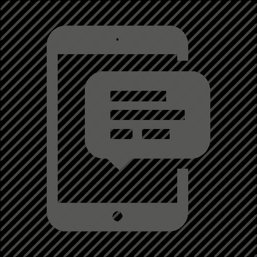 Vectors Icon Sms Alert Download Free