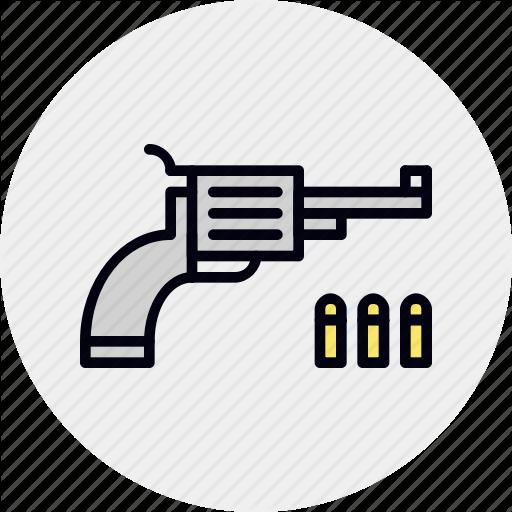 Colt, Game, Gun, Handgun, Pistol, Shooter, Weapon Icon
