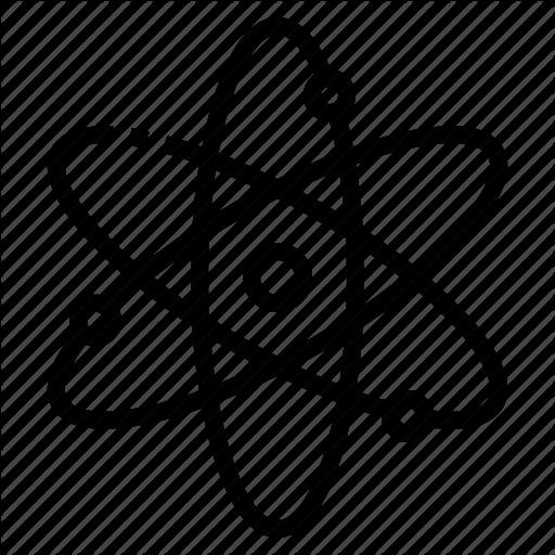Atom, Chemistry, Molecule, Nucleus, Science Icon
