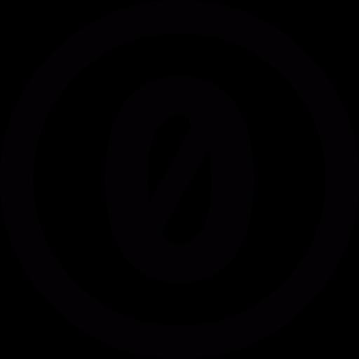 Null Taste Symbol Kostenlos Von Entypo Icons