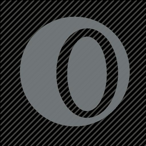 Empty, Null, Zero Icon