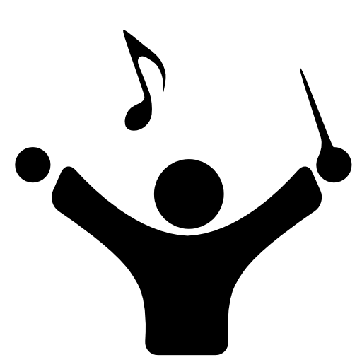 Music Conductor Free Icon Conducting Music Icon