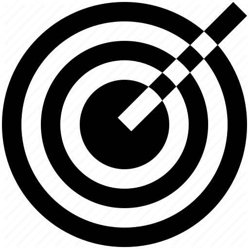 Arrow, Business, Finance, Objective, Target Icon