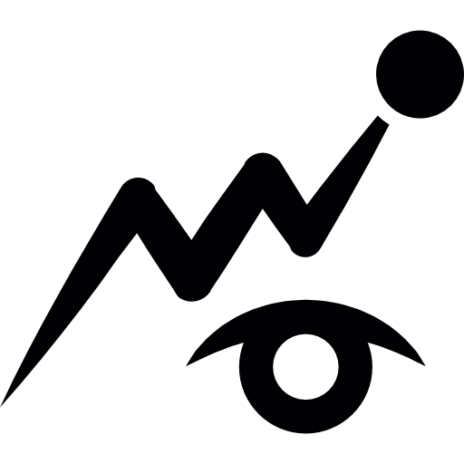 Observation Symbol Of An Eye Icons Free Download